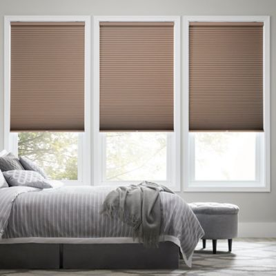 Real Simple® Cordless Blackout Cellular 56.5-Inch x 48-Inch Shade in Latte