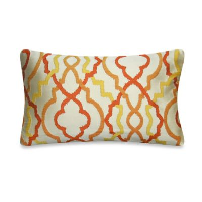 Tangerine Throw Pillows