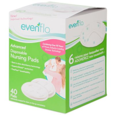 Evenflo® Feeding Advanced 40-Count Disposable Nursing Pads