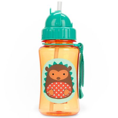 SKIP*HOP® Zoo 12 oz. Hedgehog Straw Bottle