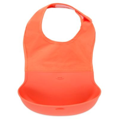 OXO Tot® Roll Up Bib in Orange
