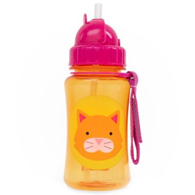 SKIP*HOP® Zoo 12 oz. Cat Straw Bottle