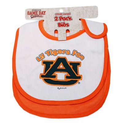 Auburn University 2-Pack Infant Bib