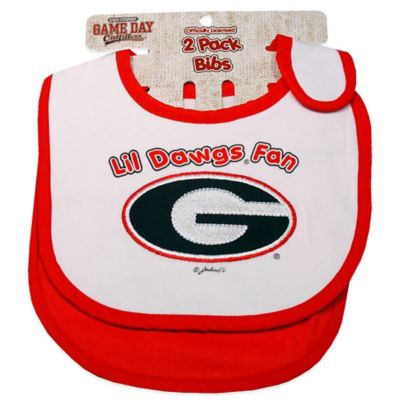 University of Georgia 2-Pack Infant Bib