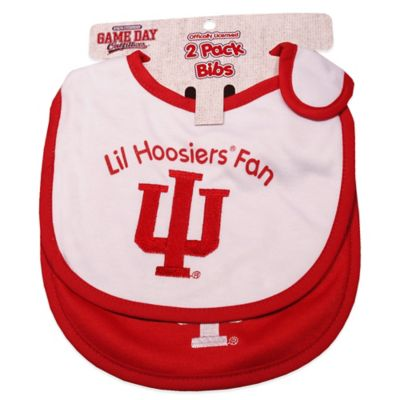 Indiana University 2-Pack Infant Bib