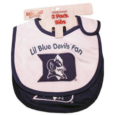 Duke University 2-Pack Infant Bib