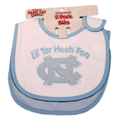 University of North Carolina 2-Pack Infant Bib