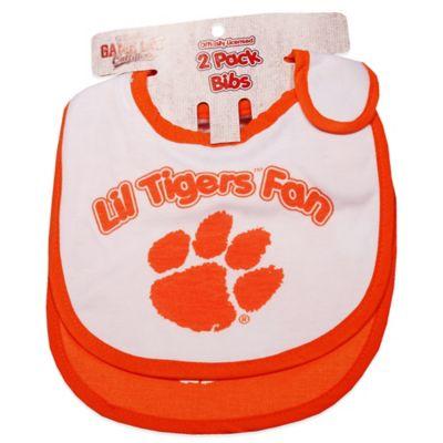 Clemson University 2-Pack Infant Bib