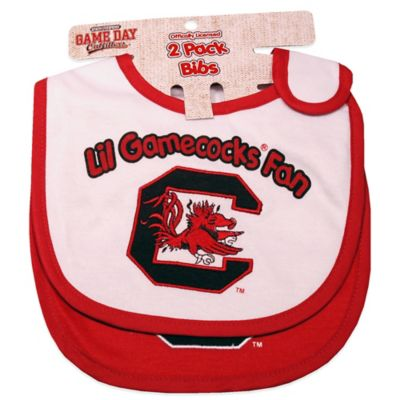 University of South Carolina 2-Pack Infant Bib