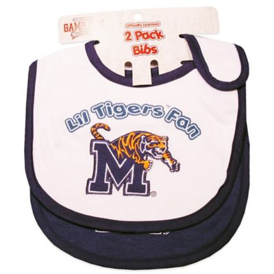University of Memphis 2-Pack Infant Bib
