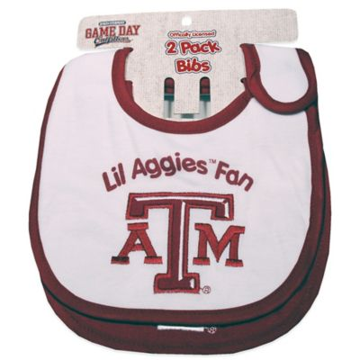 Texas A&M University 2-Pack Infant Bib