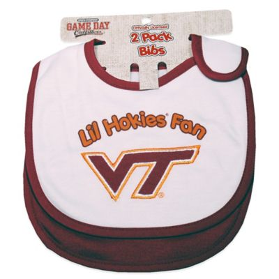 Virginia Tech University 2-Pack Infant Bib