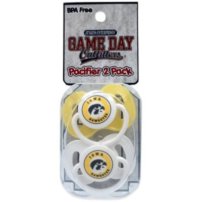 University of Iowa 2-Pack Pacifiers