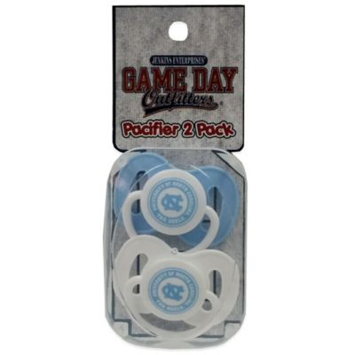 University of North Carolina 2-Pack Infant Pacifiers