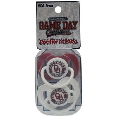 University of Oklahoma 2-Pack Pacifiers