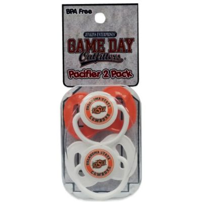 Oklahoma State University 2-Pack Pacifiers