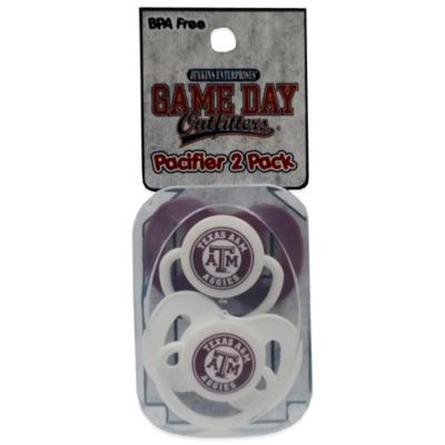 Texas A&M University 2-Pack Infant Pacifiers