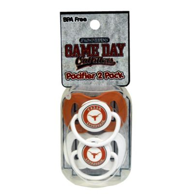 University of Texas 2-Pack Infant Pacifiers