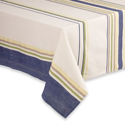 Tate 70-Inch Round Tablecloth in Navy