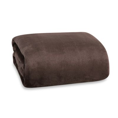 Berkshire Blanket® Modern Comfort Throw in Chocolate