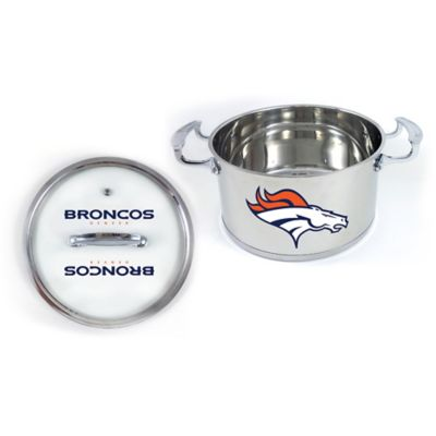 NFL Denver Broncos 5 Qt. Chili Pot