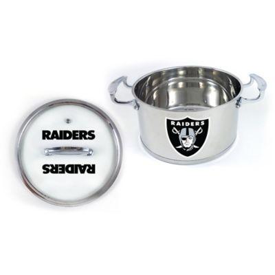 NFL Oakland Raiders 5 Qt. Chili Pot