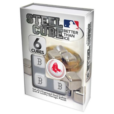 MLB Boston Red Sox Steel Cubes (Set of 6)