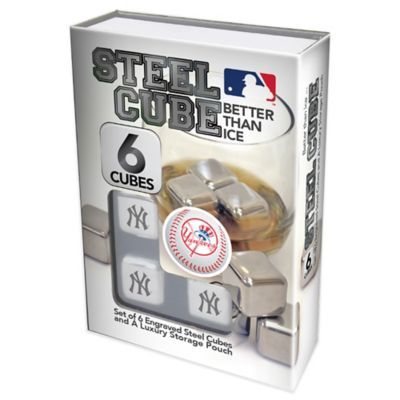 MLB New York Yankees Steel Cubes (Set of 6)