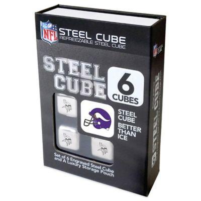 NFL Minnesota Vikings Steel Cubes (Set of 6)