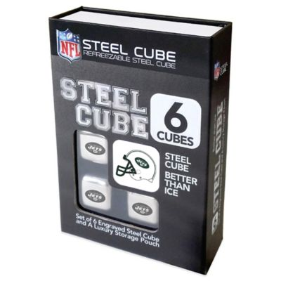 NFL New York Jets Steel Cubes (Set of 6)