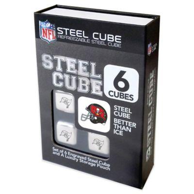 NFL Tampa Bay Buccaneers Steel Cubes (Set of 6)