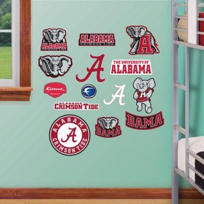 Fathead® University of Alabama Logo Sheet Junior Wall Graphic