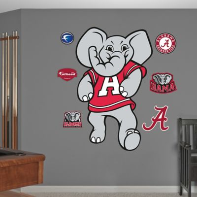 Fathead® University of Alabama Crimson Big Al Mascot Wall Graphic