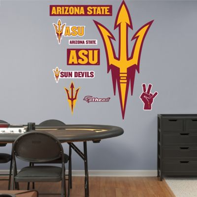 Fathead® Arizona State University Pitchfork Logo Wall Graphic