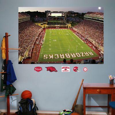 Fathead® University of Arkansas Stadium Mural Wall Graphic