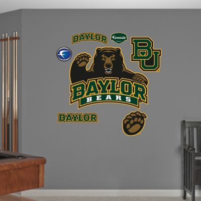 Fathead® Baylor University Logo Wall Graphic