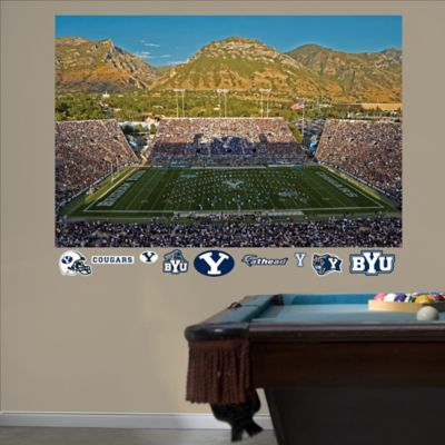 Fathead® Brigham Young University Stadium Mural Wall Graphic