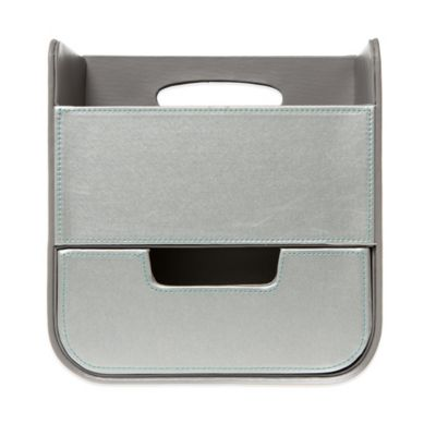 Diaper Caddy in Grey