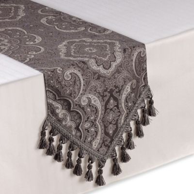 Opulence 72-Inch Table Runner in Silver