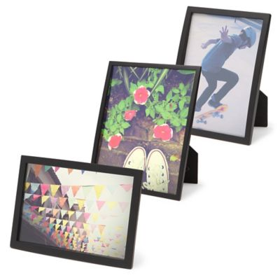 Umbra® Senza 4-Inch x 6-Inch Frame in Black