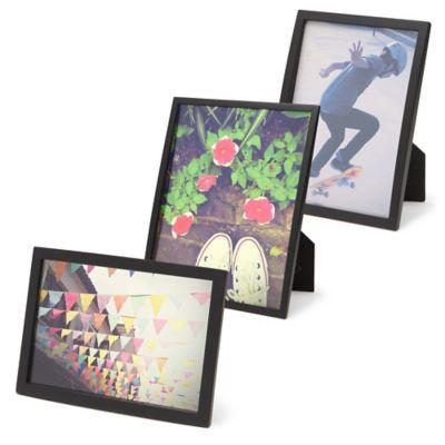 Umbra® Senza 5-Inch x 7-Inch Frame in Black