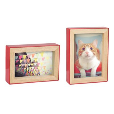 "5"" x 7 Red Picture Frame"