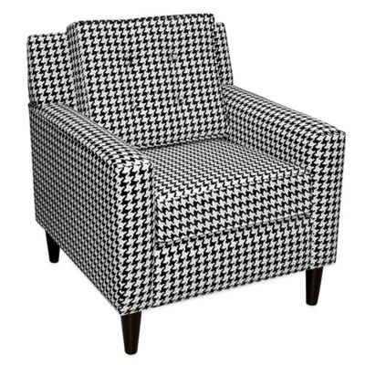 Skyline Furniture Arm Chair in Berne Black