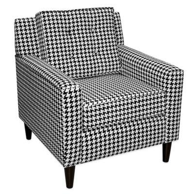 Skyline Furniture Parkview Arm Chair in Berne Black