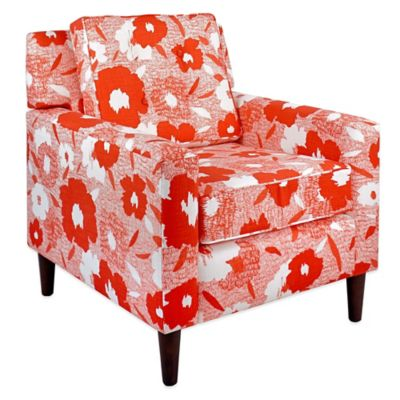 Skyline Furniture Arm Chair in Carys Poppy