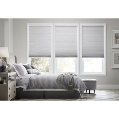 Real Simple® Cordless Blackout Cellular 59.5-Inch x 72-Inch Shade in White