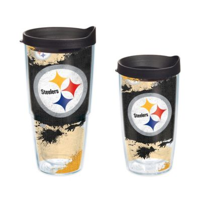 Tervis® NFL Pittsburgh Steelers 24 oz. Distressed Wrap Tumbler with Lid