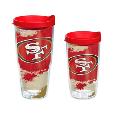 Tervis® NFL San Francisco 49ers 24 oz. Distressed Wrap Tumbler with Lid
