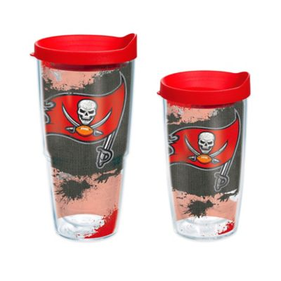 Tervis® NFL Tampa Bay Buccaneers 24 oz. Distressed Wrap Tumbler with Lid