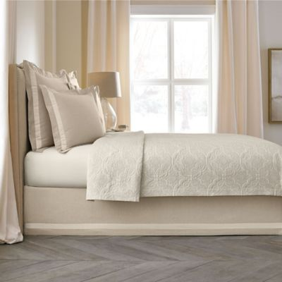 Wamsutta Collection® Linen Cotton Blend 15-Inch Full Bed Skirt in Natural